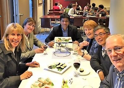 Farewell United Board Visiting Fellows Iven Jose Junjie He